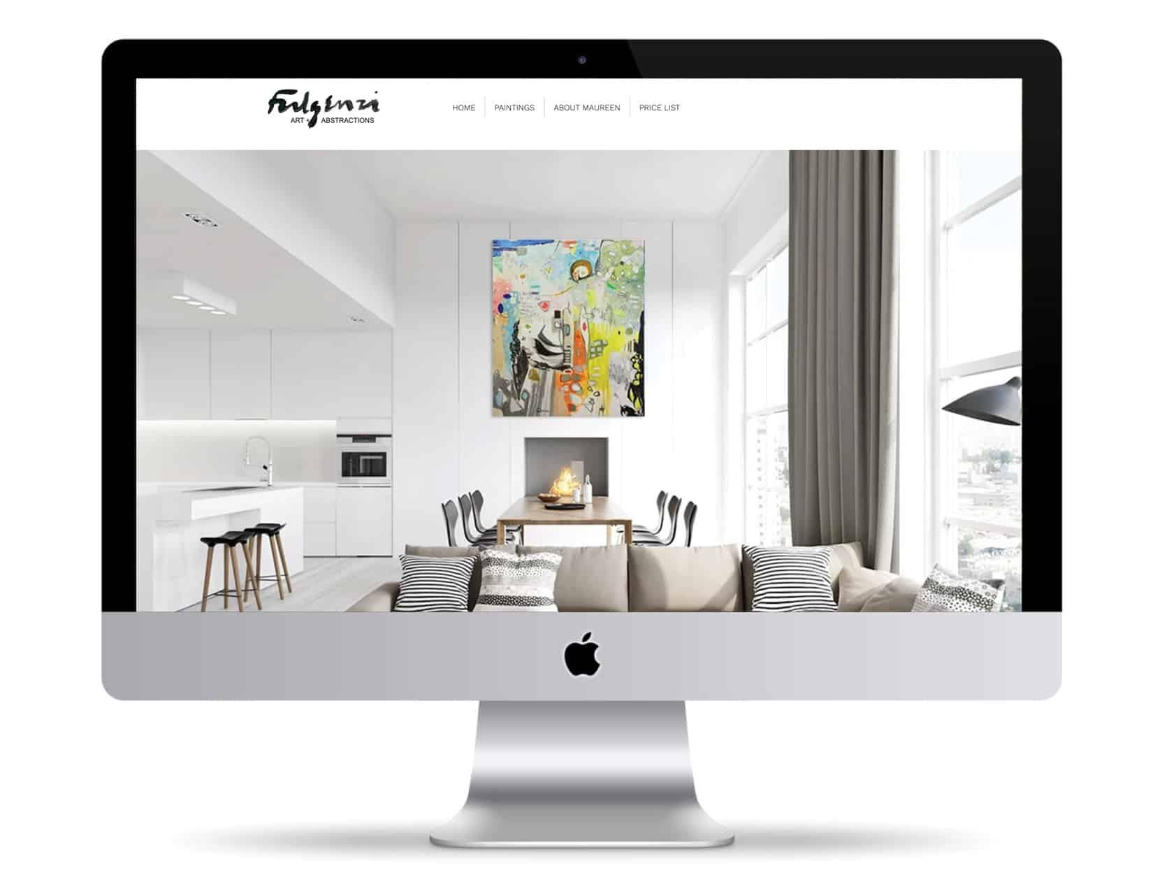 Molly Greene web design